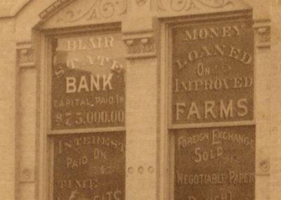 Blair State Bank / Lundt & Arndt Hardware Buildings Details