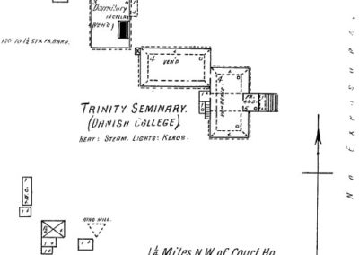 Dana College - Sanborn Map - 1902