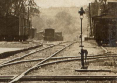 1910 Blair Train Depot - Details