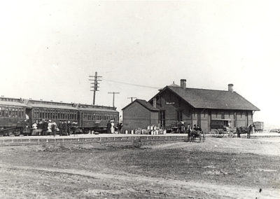 1880 Blair Depot - Details