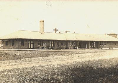 1910 Blair Train Depot