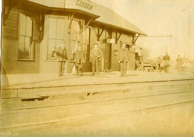 1880 Depot - North side