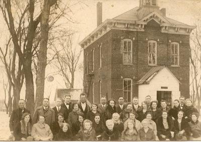 North School with teachers