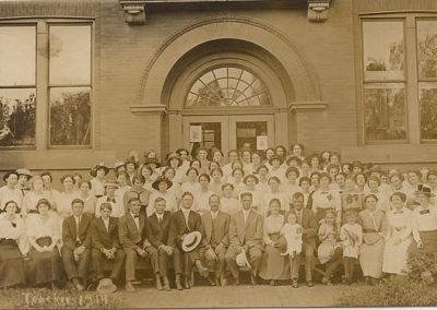 Central High School Teachers in 1914