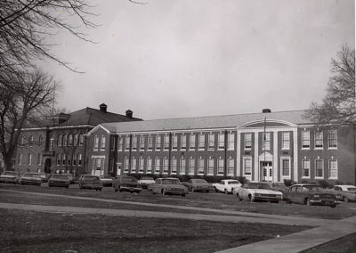 Central High School - from the east