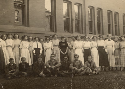 High School Class Photo