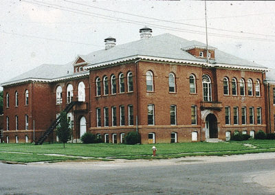 Central High School in Color