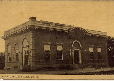 Blair Post Office c. 1913