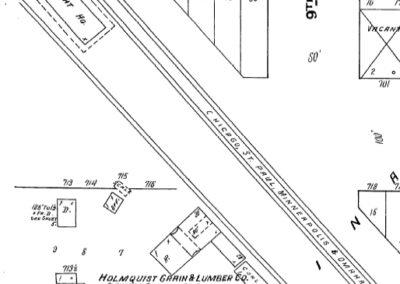 1880 Depot - Sanborn Map