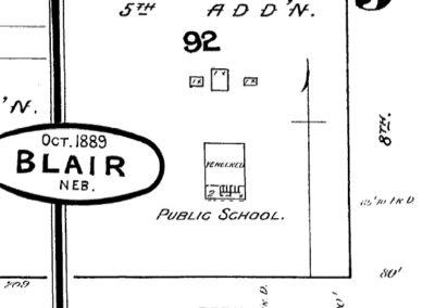 Sanborn Map - 1889