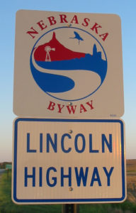 Lincoln Byway signs