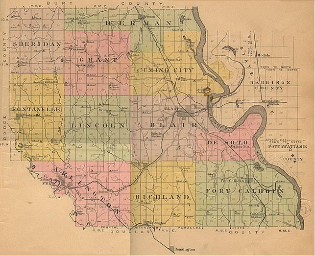 1908 Plat Map