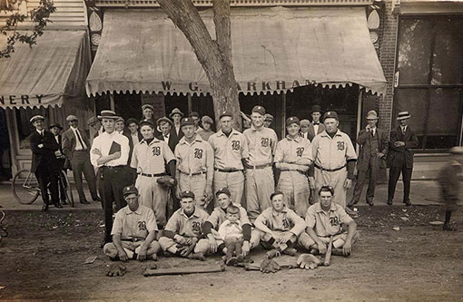 1905 Blair Baseball team