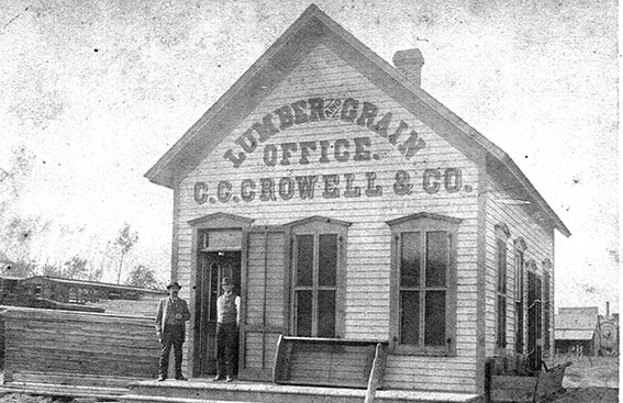CC Crowell and Company, Blair, Nebraska in the late 1800s